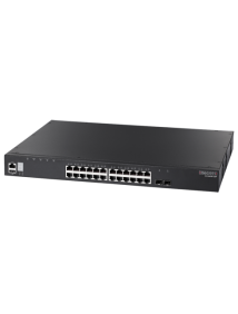 ECS4620-28P L3 GIGABIT ETHERNET STACKABLE SWITCH